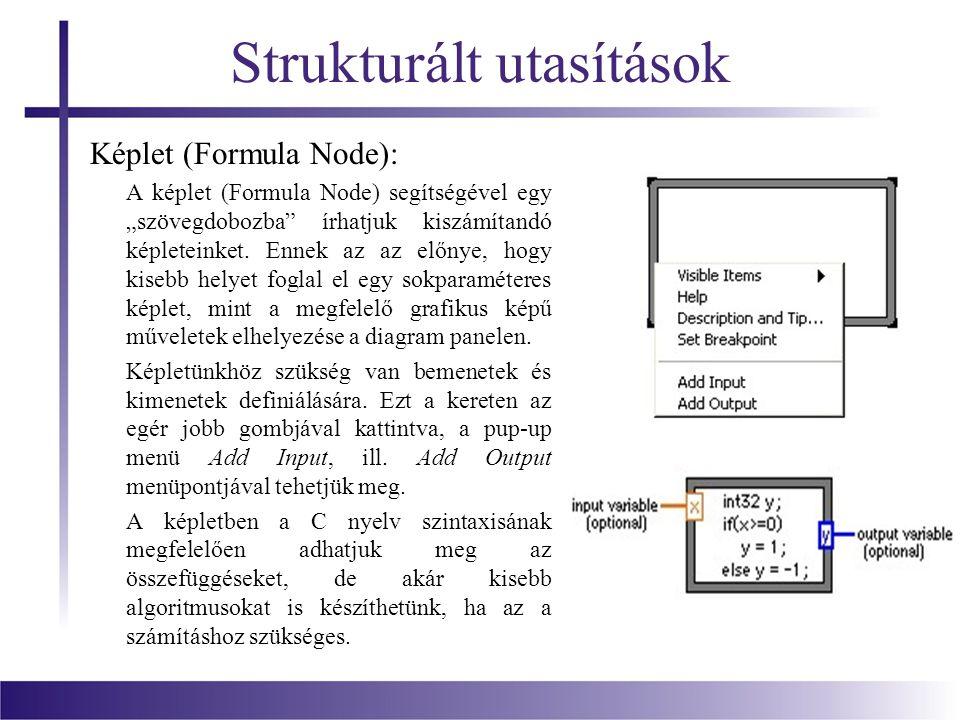 Strukturált utasítások