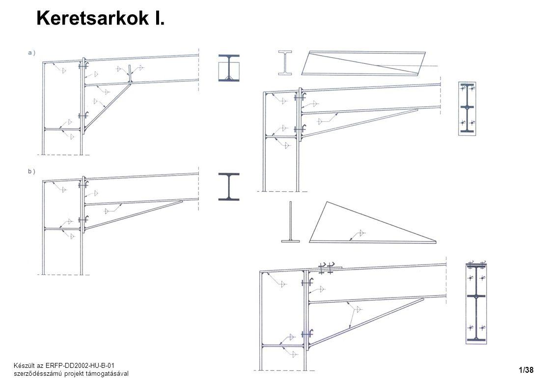 Keretsarkok I. Készült az ERFP-DD2002-HU-B-01 szerződésszámú projekt támogatásával 1/38