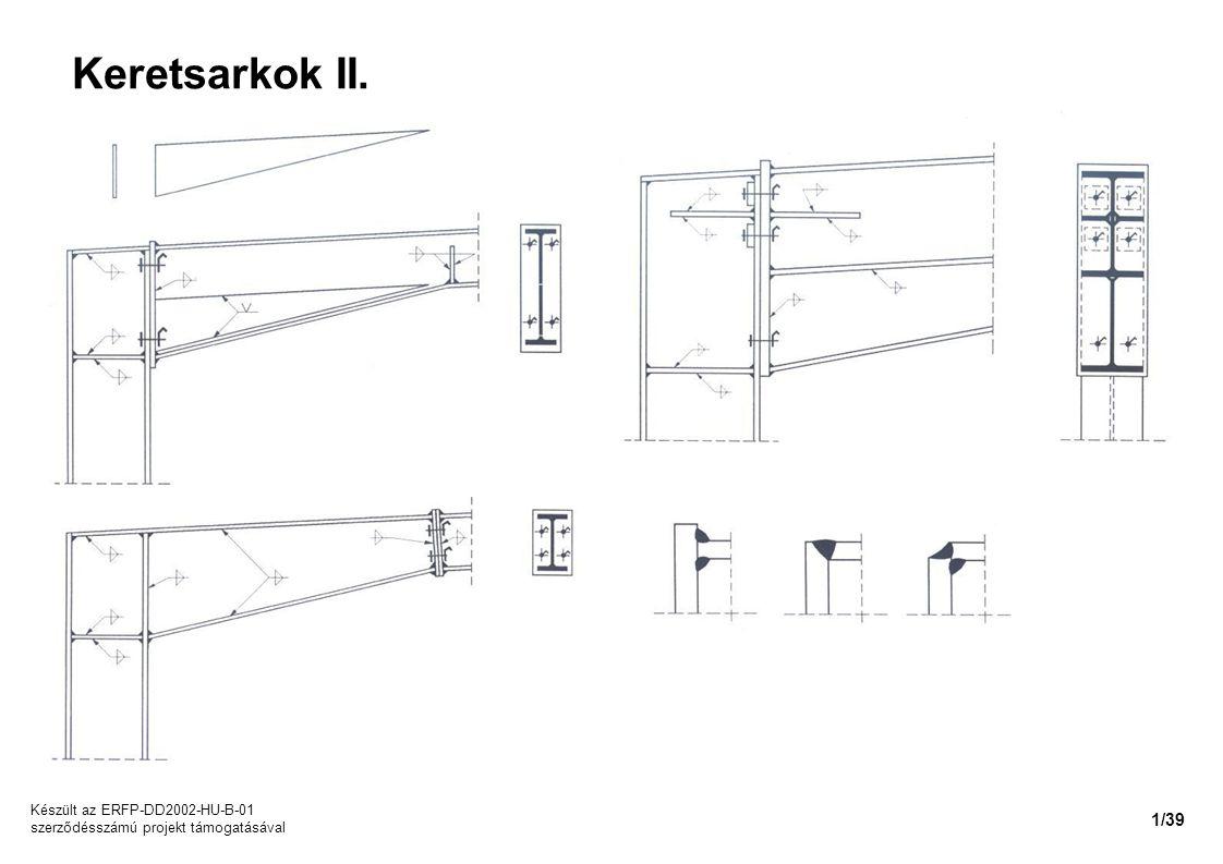 Keretsarkok II. Készült az ERFP-DD2002-HU-B-01 szerződésszámú projekt támogatásával 1/39