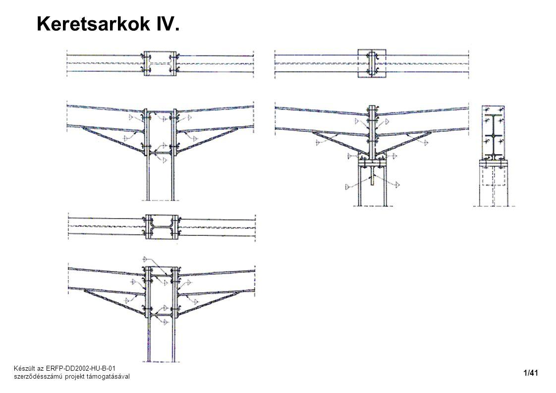 Keretsarkok IV. Készült az ERFP-DD2002-HU-B-01 szerződésszámú projekt támogatásával 1/41