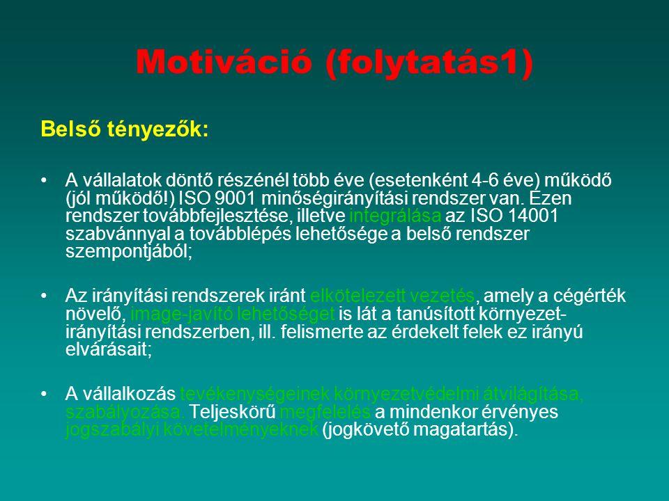 Motiváció (folytatás1)