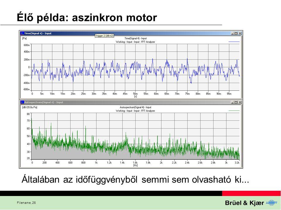 Élő példa: aszinkron motor