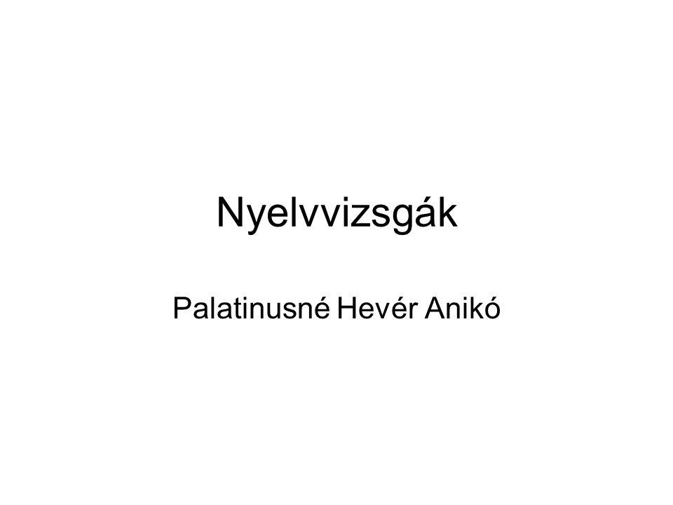Palatinusné Hevér Anikó