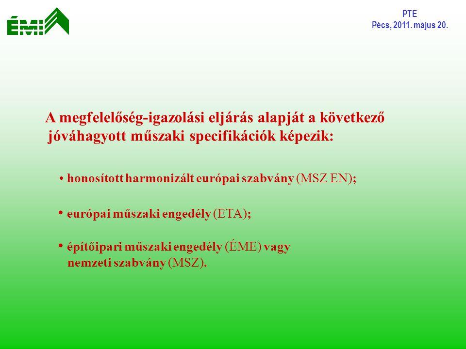 európai műszaki engedély (ETA);