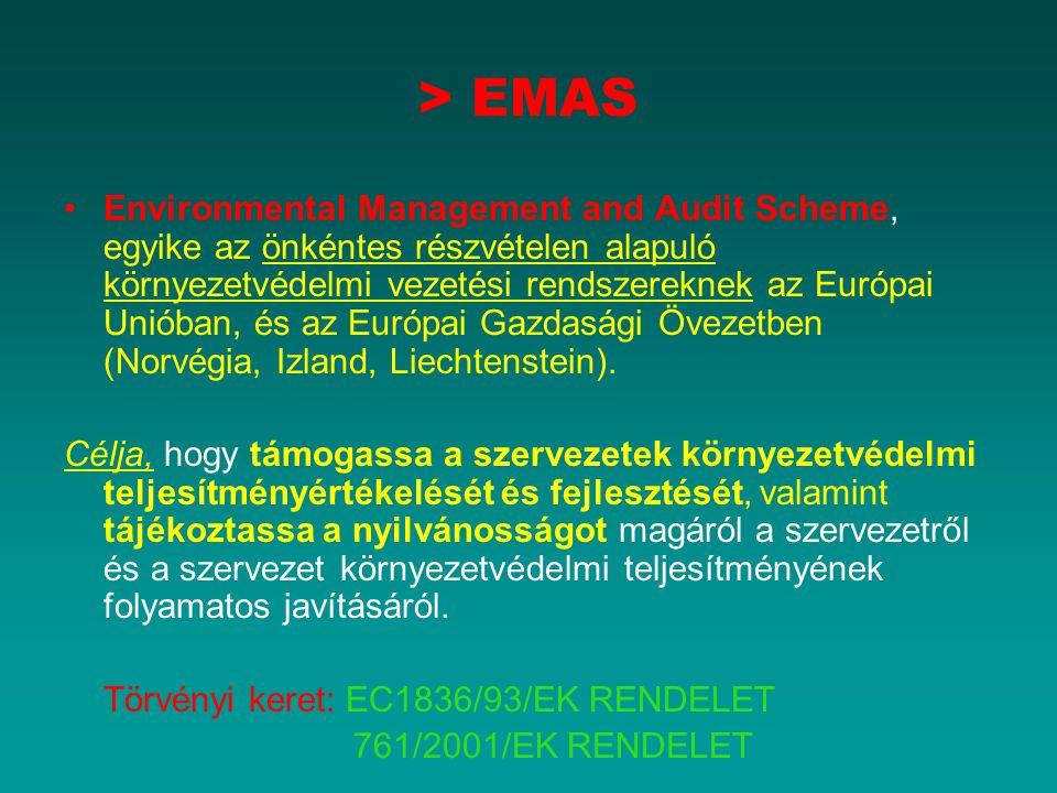 > EMAS