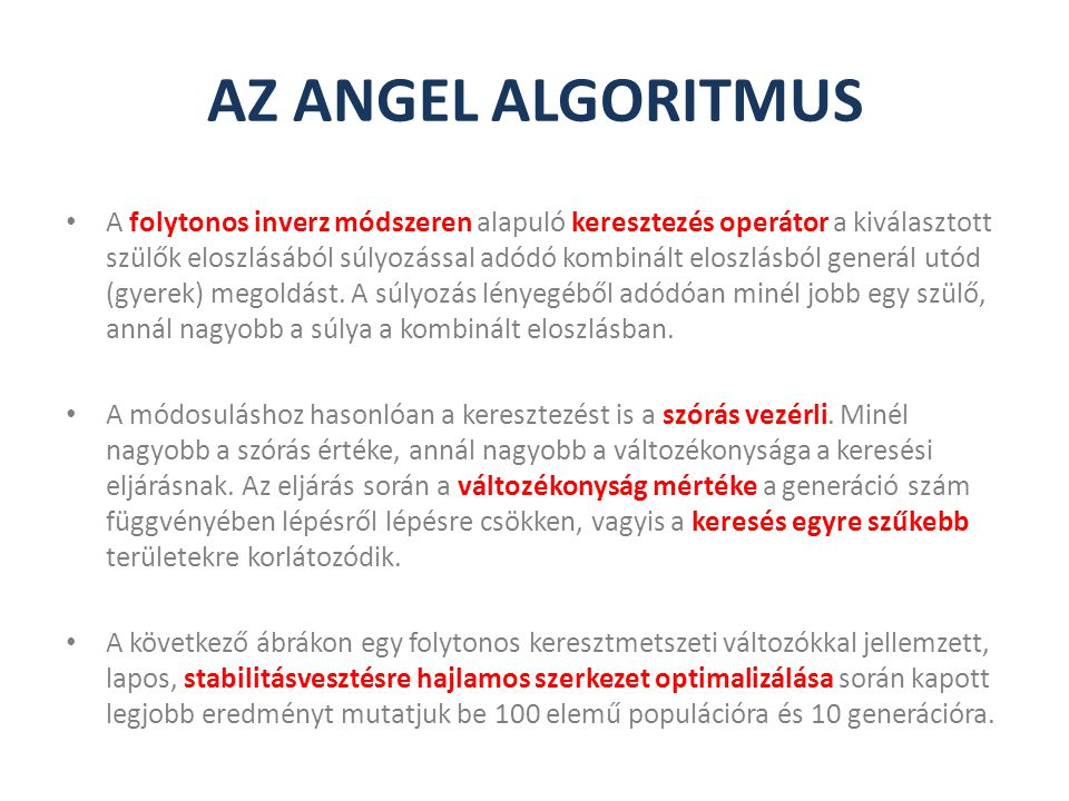 AZ ANGEL ALGORITMUS