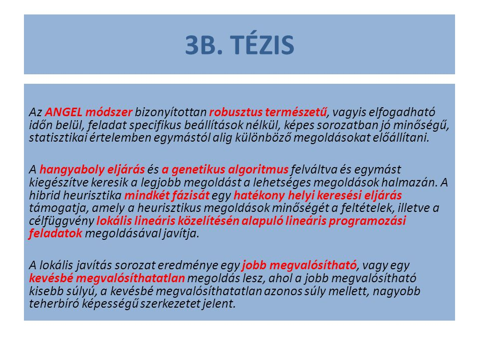 3B. TÉZIS