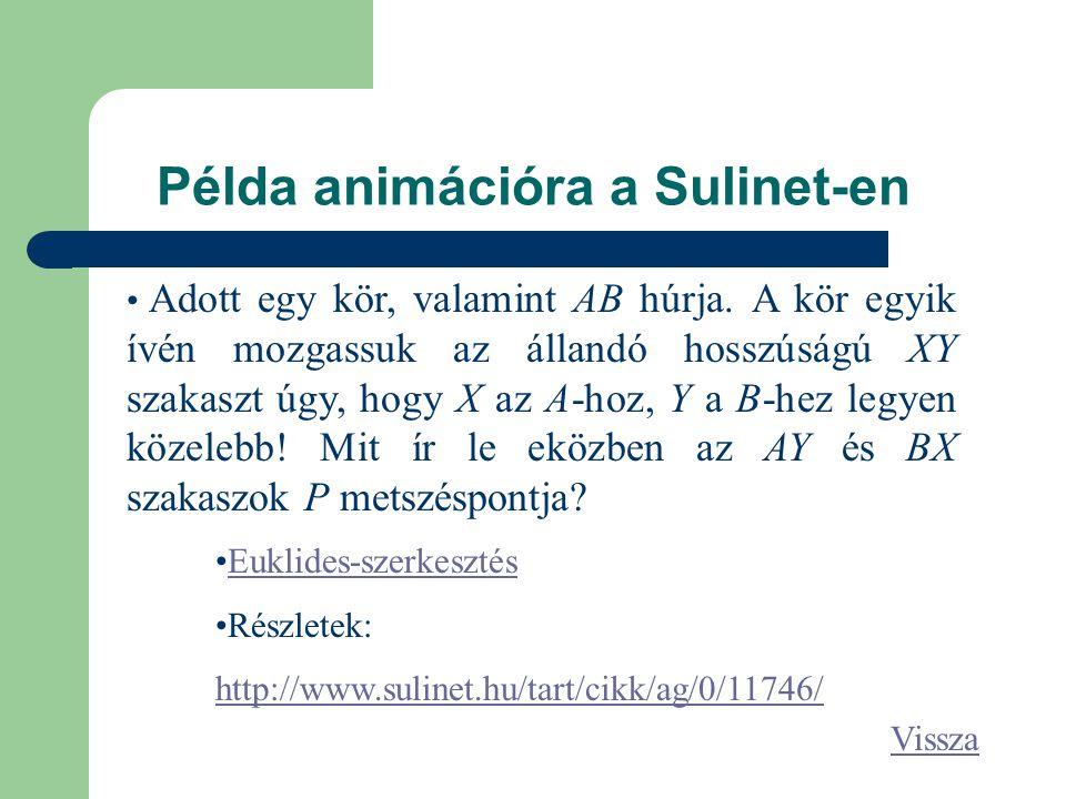 Példa animációra a Sulinet-en