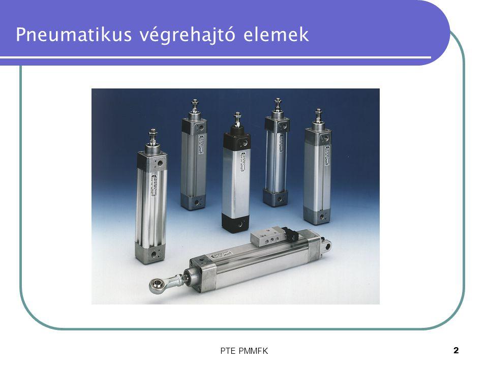 Pneumatikus végrehajtó elemek
