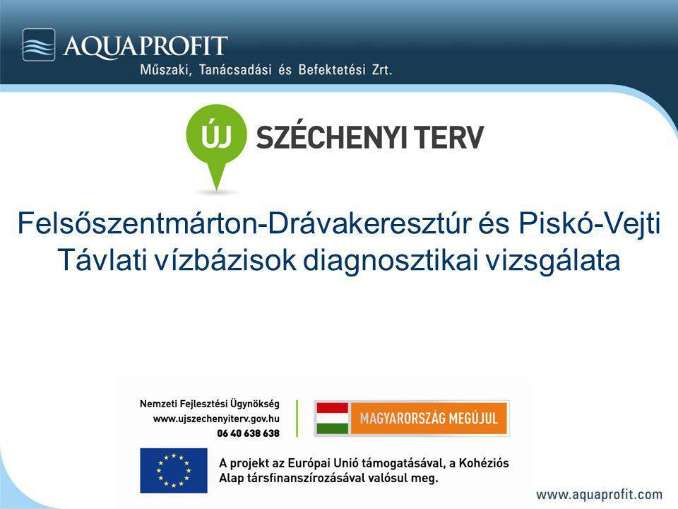 Felsőszentmárton-Drávakeresztúr és Piskó-Vejti Távlati vízbázisok diagnosztikai vizsgálata