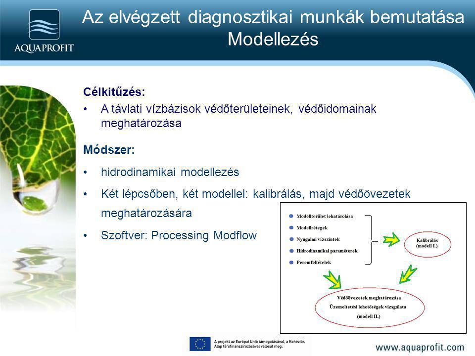 Az elvégzett diagnosztikai munkák bemutatása Modellezés