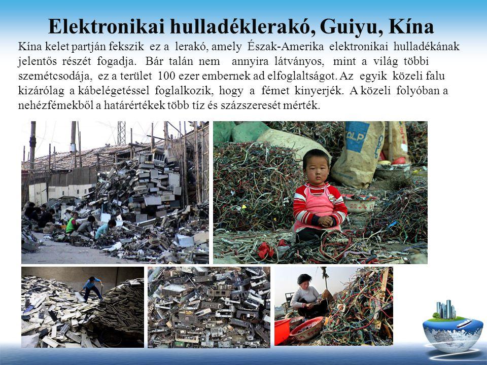 Elektronikai hulladéklerakó, Guiyu, Kína