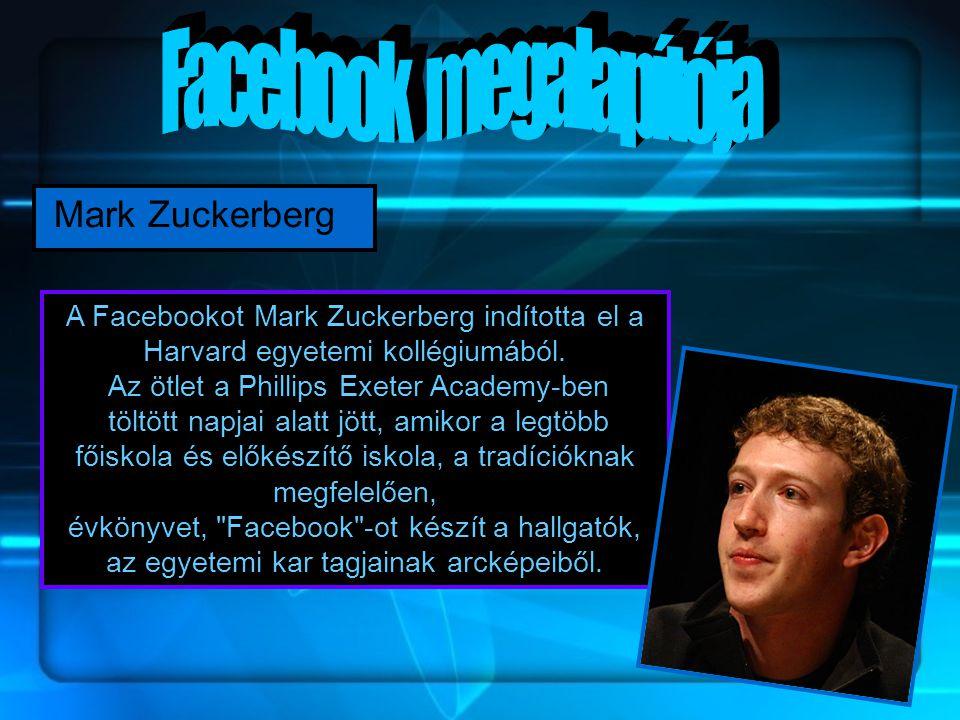 Facebook megalapítója