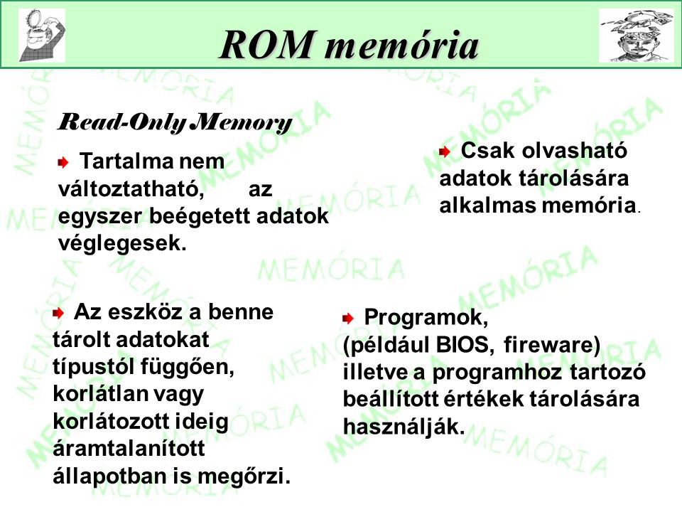 ROM memória Read-Only Memory