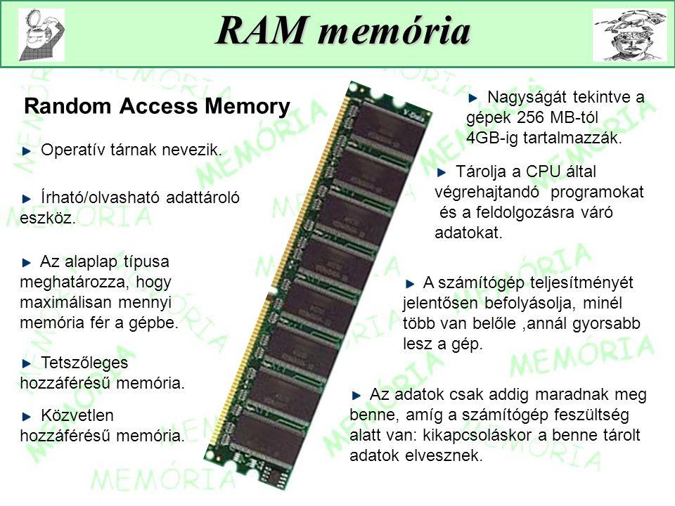 RAM memória Random Access Memory