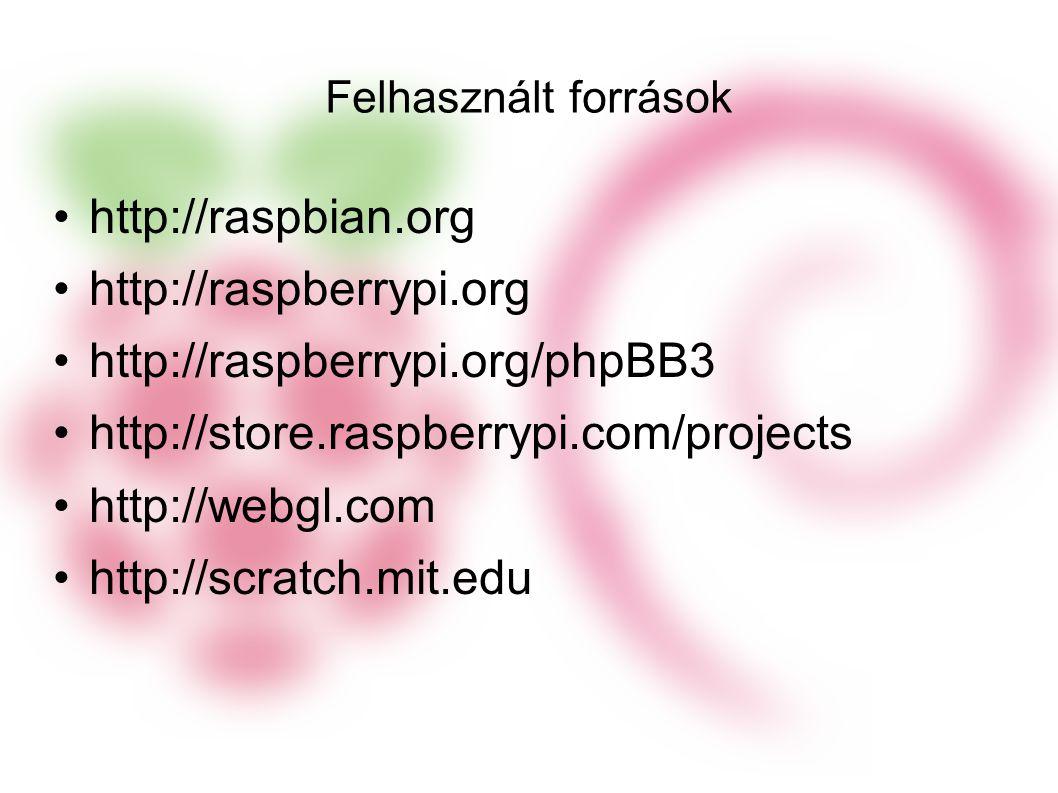 http://raspbian.org http://raspberrypi.org