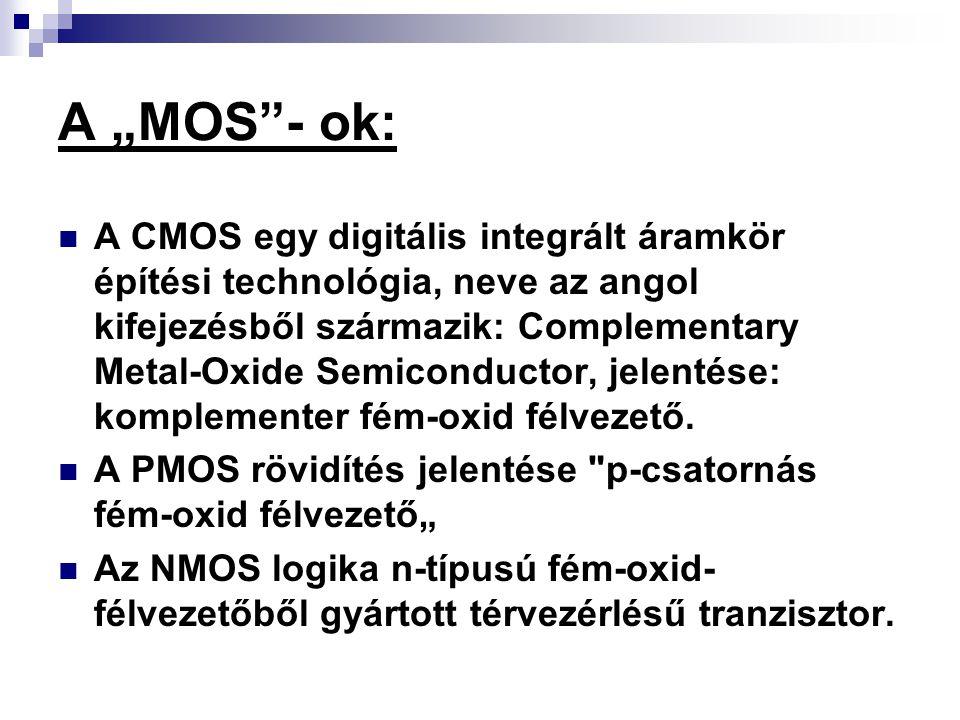 "A ""MOS - ok:"
