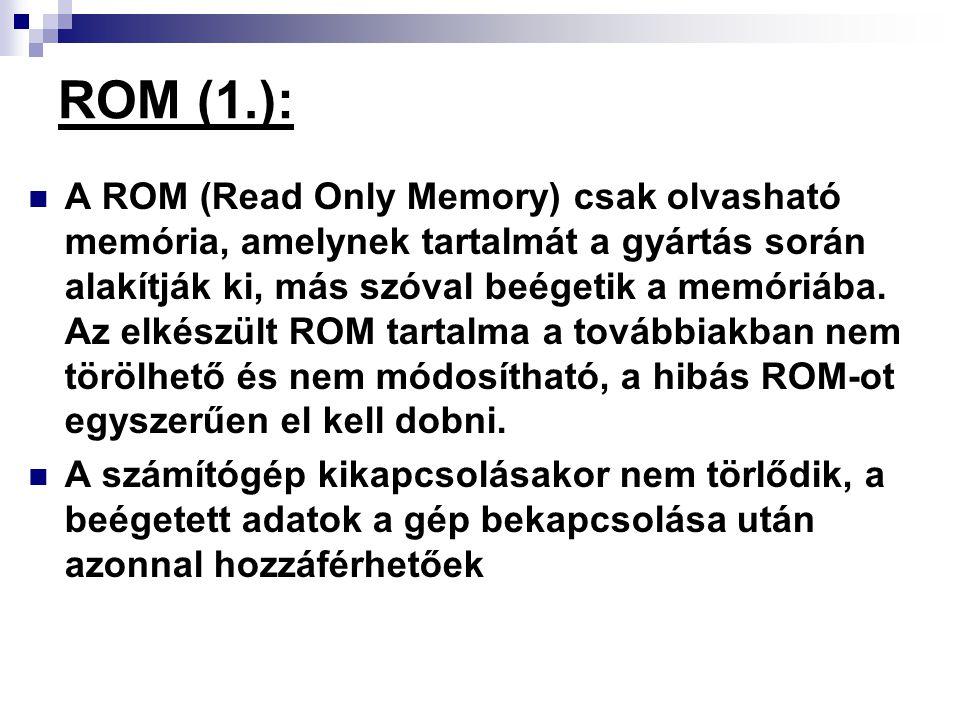 ROM (1.):