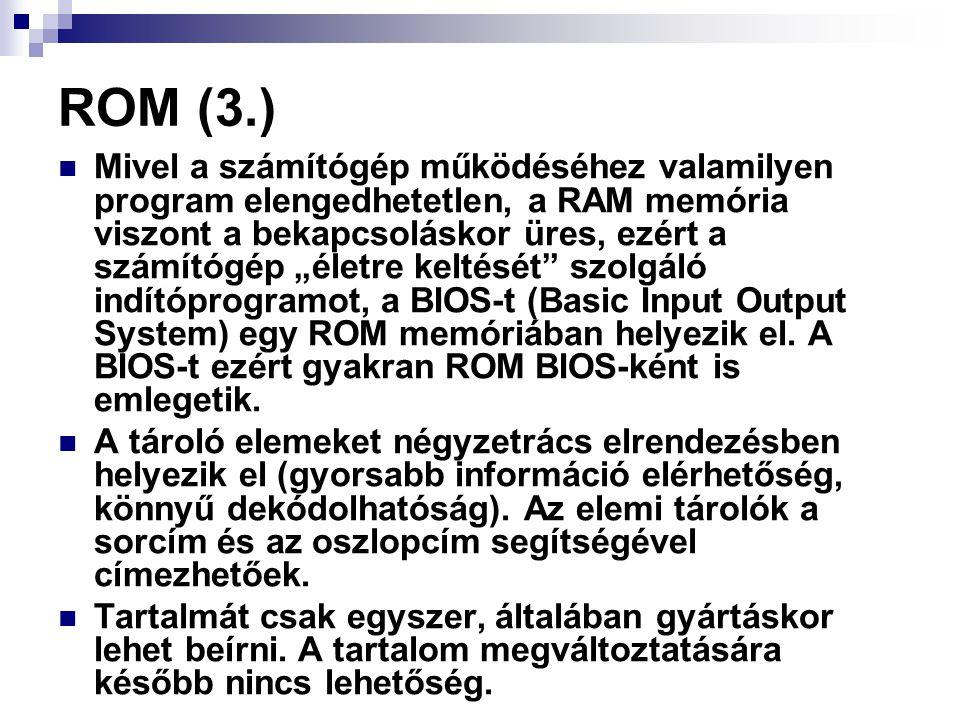 ROM (3.)