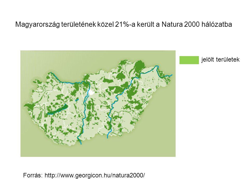 Magyarország területének közel 21%-a került a Natura 2000 hálózatba