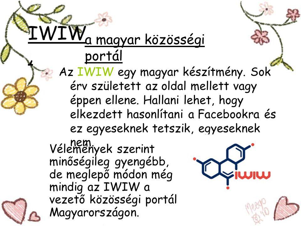 IWIW, a magyar közösségi portál