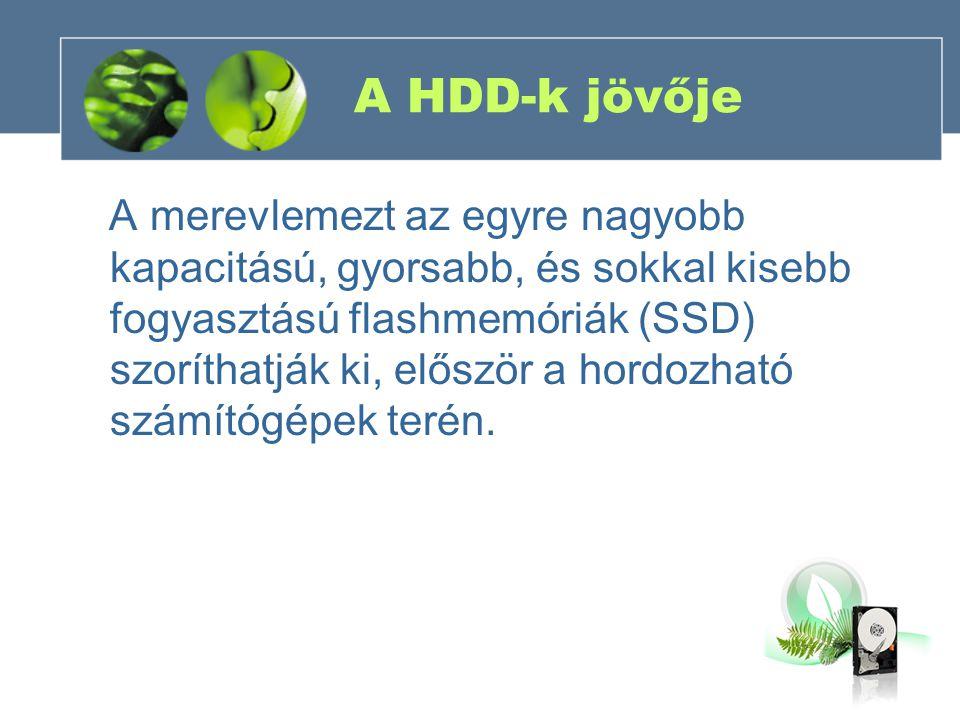A HDD-k jövője