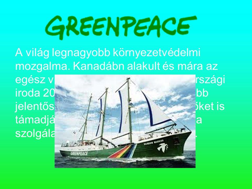 A világ legnagyobb környezetvédelmi mozgalma