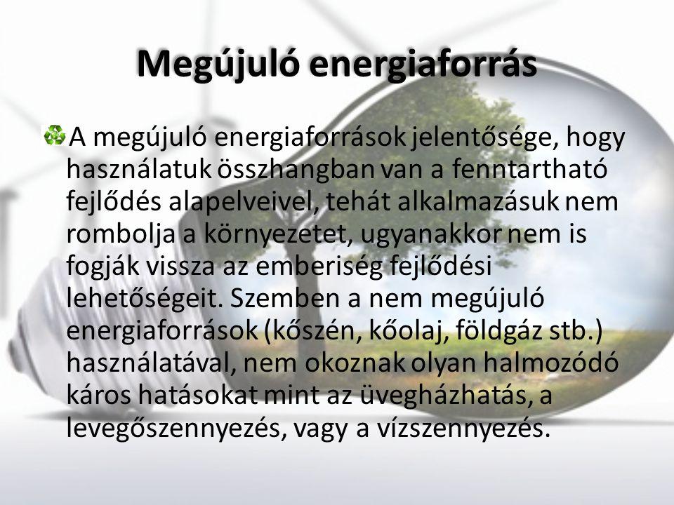 Megújuló energiaforrás