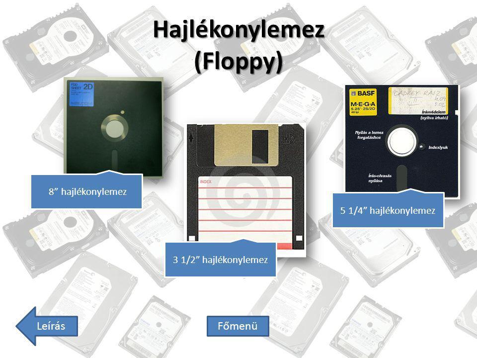 Hajlékonylemez (Floppy)