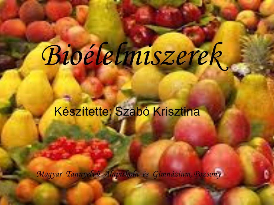 Készítette: Szabó Krisztina