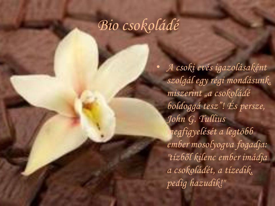 Bio csokoládé