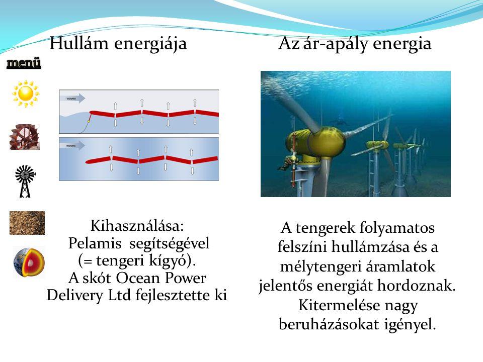 A skót Ocean Power Delivery Ltd fejlesztette ki