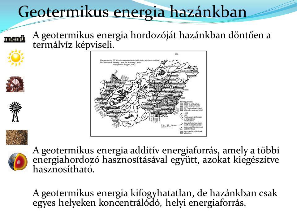 Geotermikus energia hazánkban
