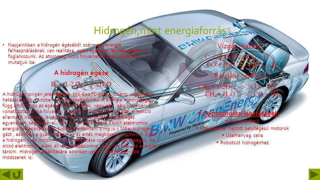 Hidrogén,mint energiaforrás