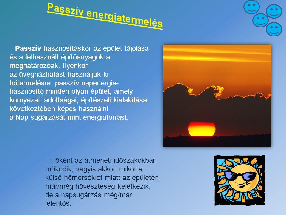 Passzív energiatermelés