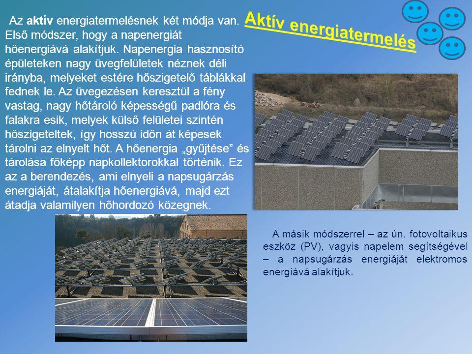 Aktív energiatermelés