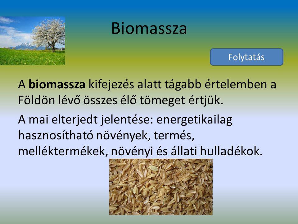 Biomassza Folytatás.