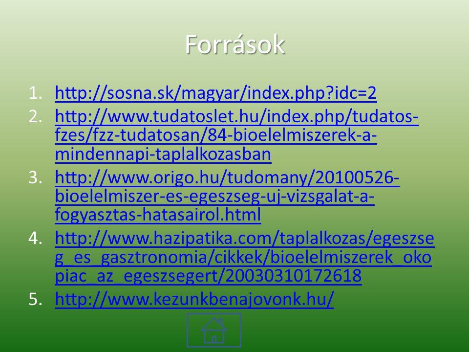 Források http://sosna.sk/magyar/index.php idc=2