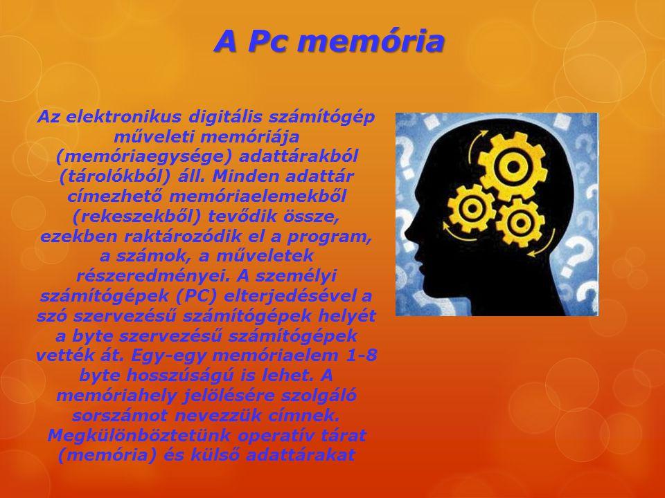 A Pc memória