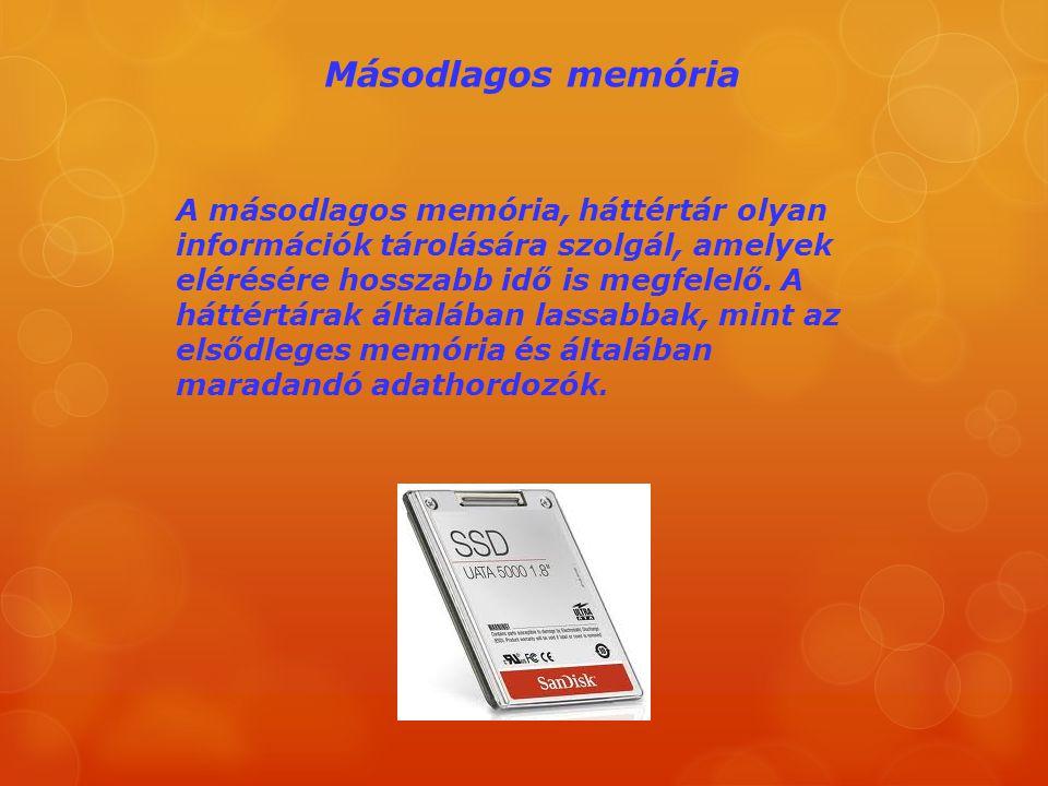 Másodlagos memória