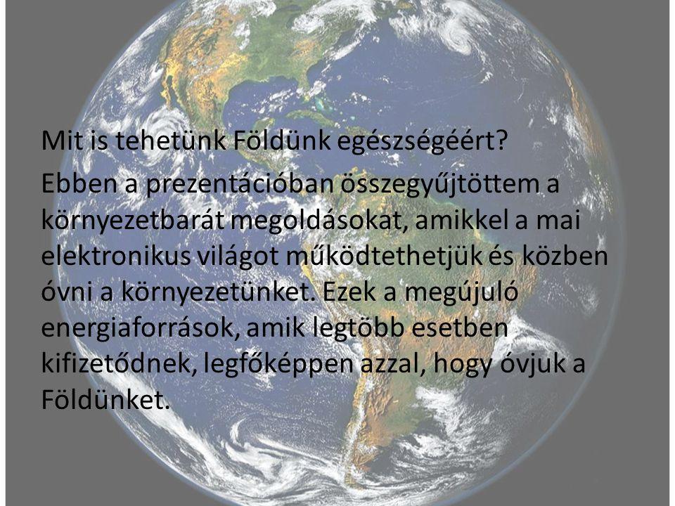 Mit is tehetünk Földünk egészségéért