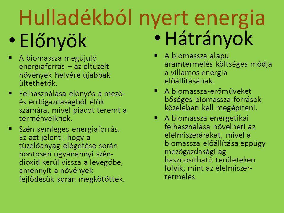 Hulladékból nyert energia