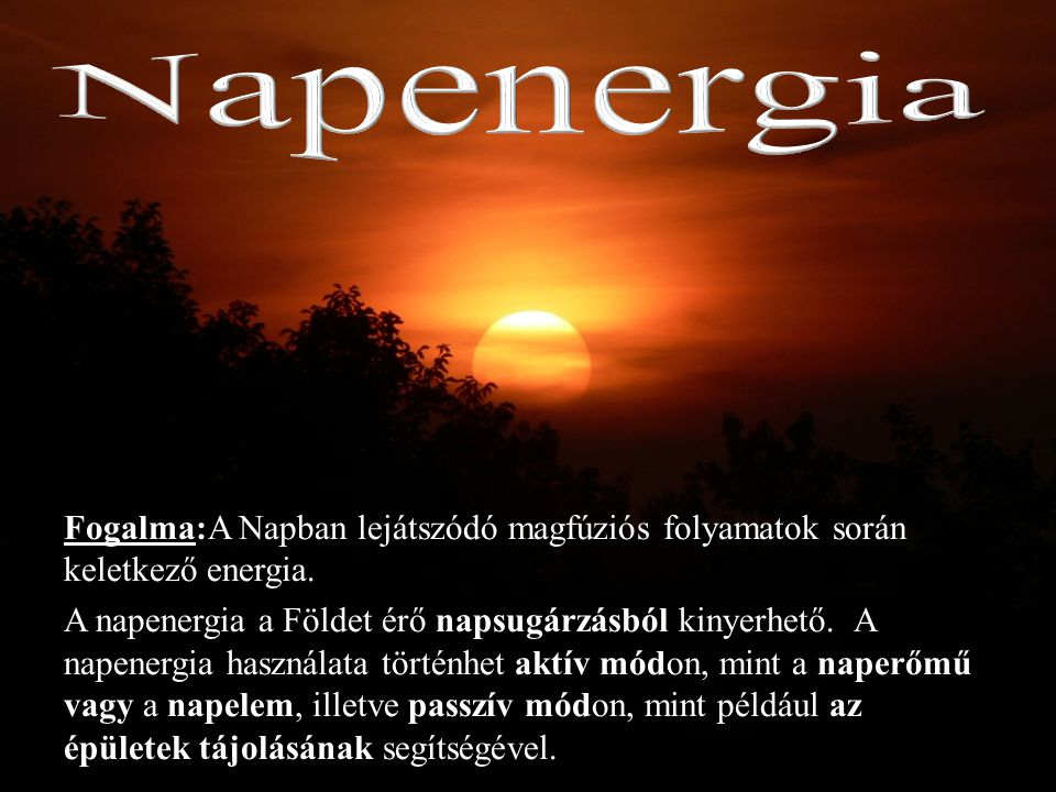 Napenergia