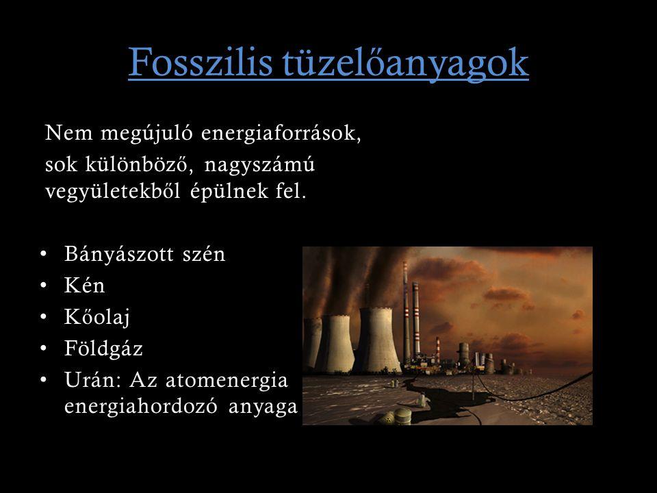 Fosszilis tüzelőanyagok