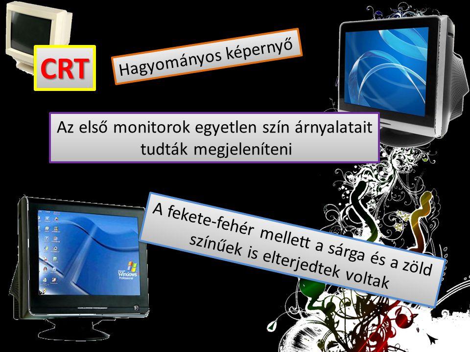 CRT Hagyományos képernyő