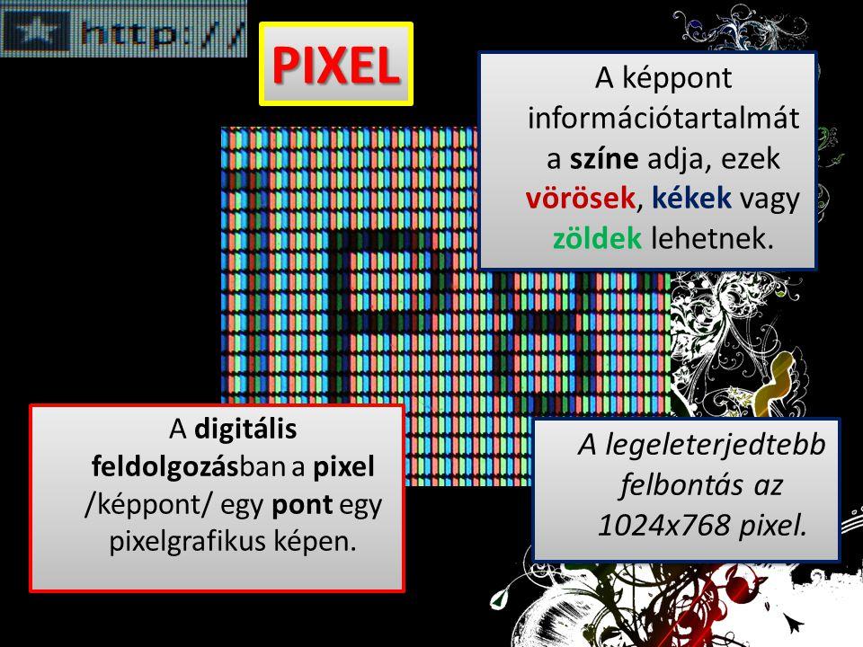 A legeleterjedtebb felbontás az 1024x768 pixel.