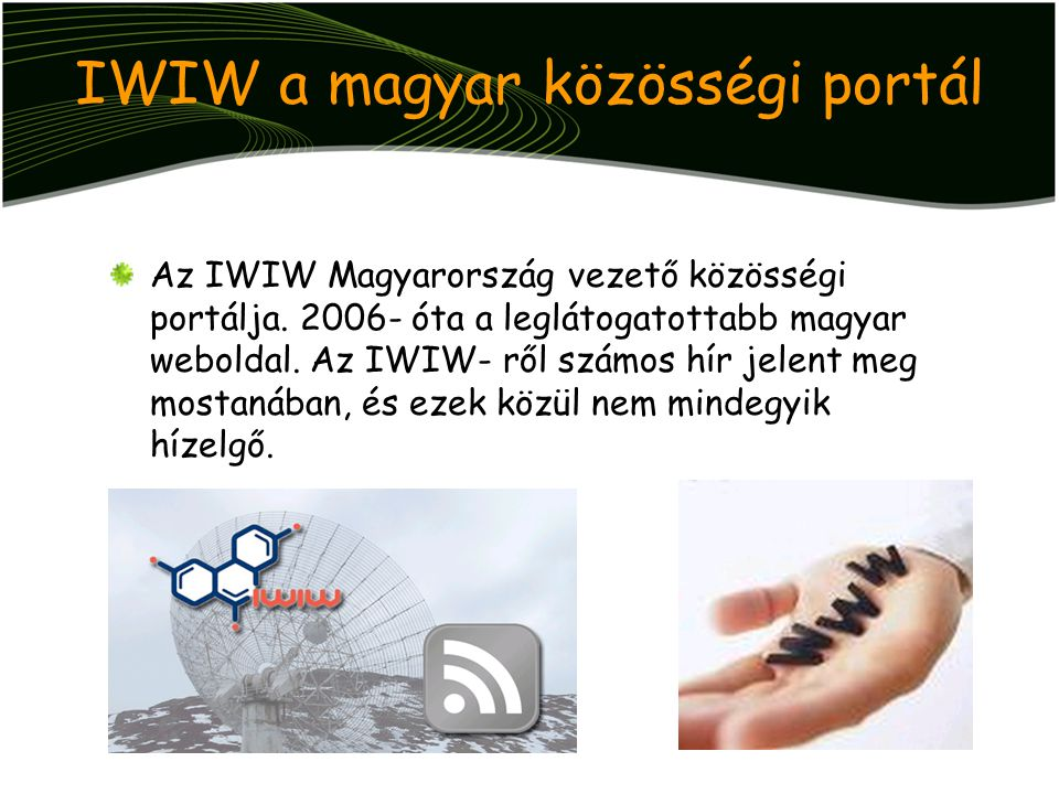 IWIW a magyar közösségi portál