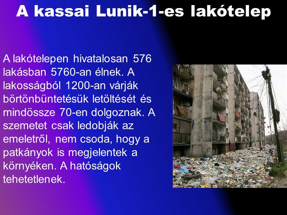 A kassai Lunik-1-es lakótelep