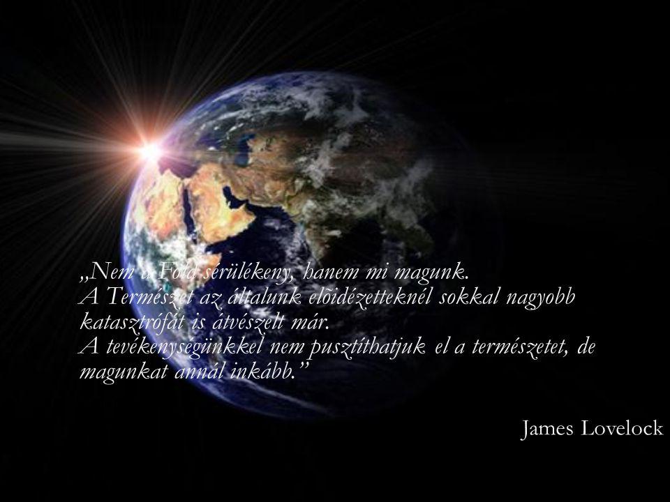 """""""Nem a Föld sérülékeny, hanem mi magunk"""