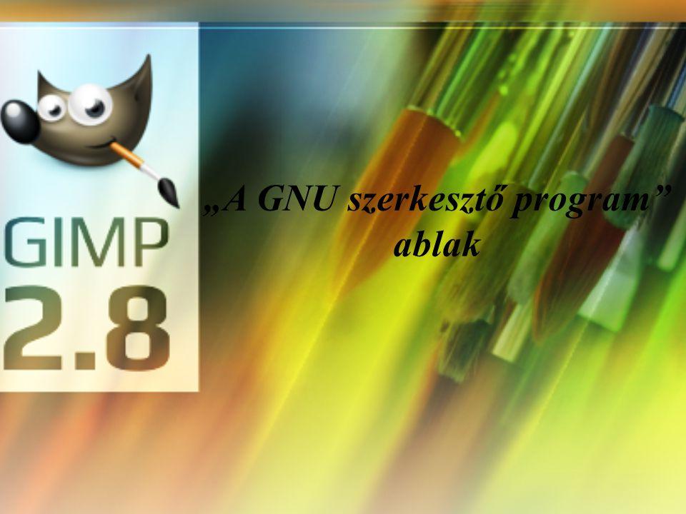 """""""A GNU szerkesztő program ablak"""
